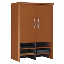 Bush Business Furniture Series C 30W Hutch in Auburn Maple