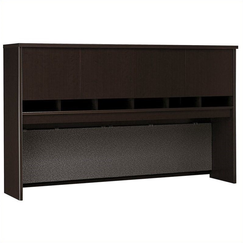 Bush BBF Series C 72W Hutch (4 Door) in Mocha Cherry