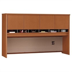 Bush Business Furniture Series C 72W Hutch (4 Door) in Auburn Maple