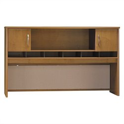 Bush BBF Series C 72W Hutch (2 Door) in Natural Cherry