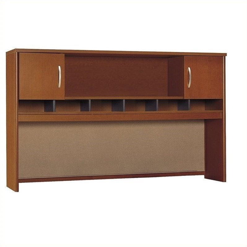 Bush Business Series C Collection 72W 2 Door Hutch in Auburn Maple