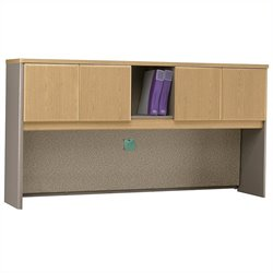 Bush BBF Series A 72W Hutch in Light Oak