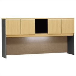 Bush Business Series A 72W Hutch in Beech