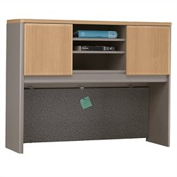 Bush BBF Series A 48W Hutch in Light Oak
