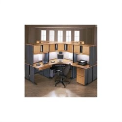 Bush Business Series A 28-Piece Corner Workstation Desk Set