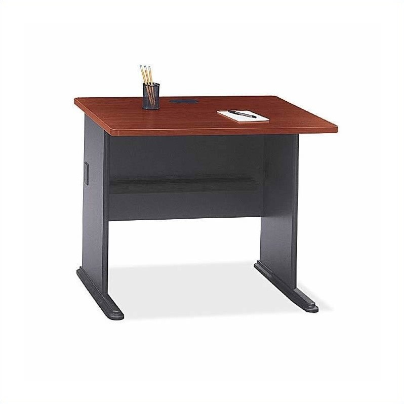 Bush Business Furniture Series A Hansen Cherry Office Cubicle