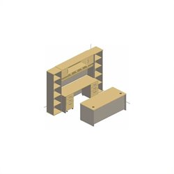 Bush Business Furniture Series C Office Set