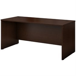 Bush Business Furniture Series C 66W Desk Shell in Mocha Cherry