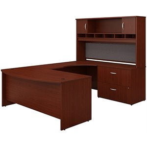 Bush Business Series C 4-Piece U-Shape Right-Hand Corner Desk