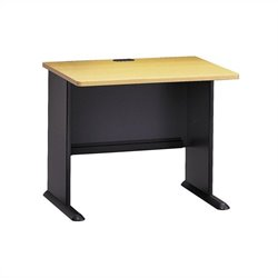 Bush Business Furniture Series A 36W Desk in Beech