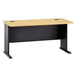 Bush BBF Series A 60W Desk in Beech