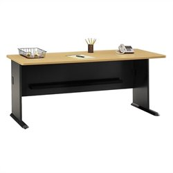 Bush Business Furniture Series A 72W Desk in Beech