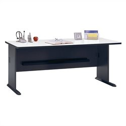 Bush Business Furniture Series A 72W Desk in Slate