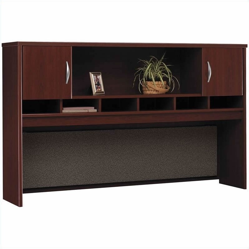 Bush BBF Series C Mahogany Office Cubicle
