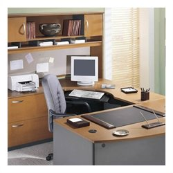 Bush BBF Series C 4-Piece L-Shaped Computer Desk