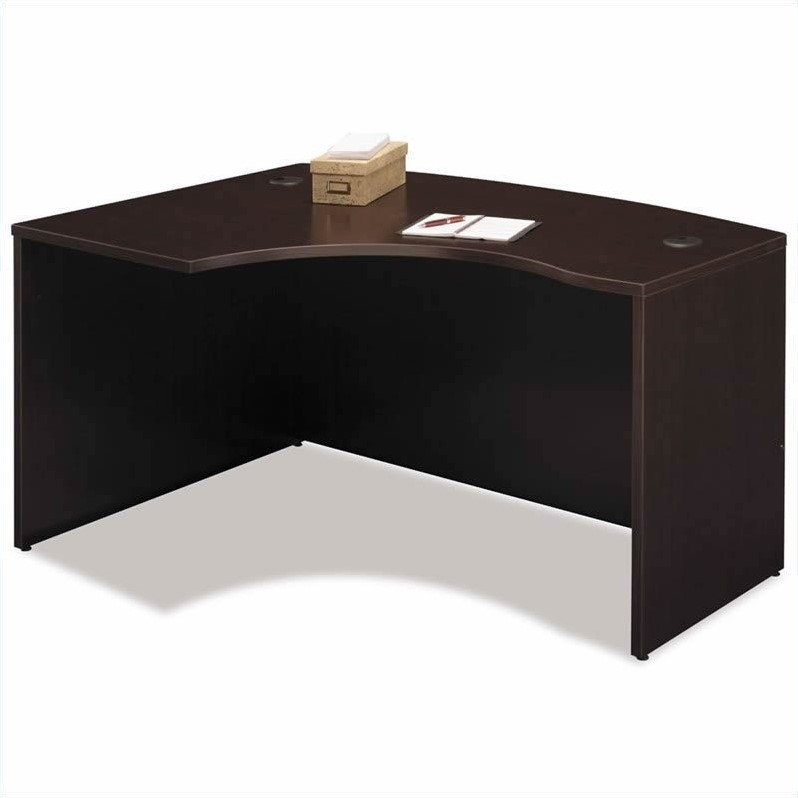 Bush Business Series C 6-Piece Left-Hand L-Shape Bow-Front Desk