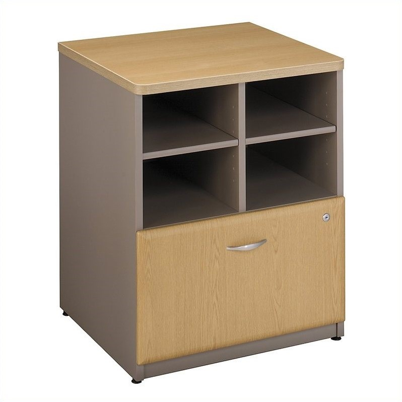 Bush Business Series A 24W Piler-Filer in Light Oak