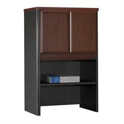 Bush BBF Series A 24W Storage Hutch in Hansen Cherry