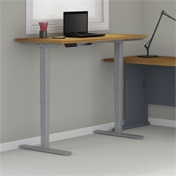 HAT6024 Standing Desk in Natural Cherry