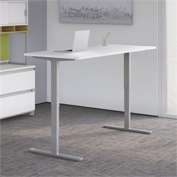 HAT6024 Standing Desk in White