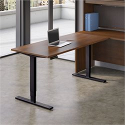 HAT7224 Standing Desk in Hansen Cherry