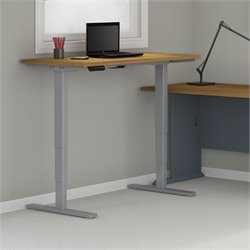 HAT7224 Standing Desk in Natural Cherry