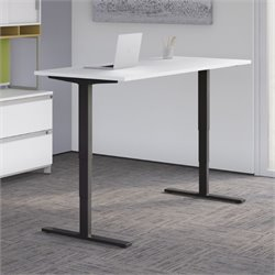 HAT7224 Standing Desk in White
