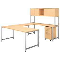 BBF 400 Series U Shaped Desk with Hutch