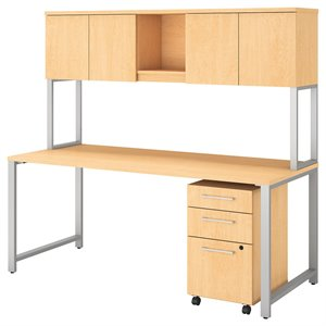 BBF 400 Series Table Desk with Hutch