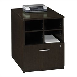 Bush Business Furniture Series C 24W Piler-Filer in Mocha Cherry
