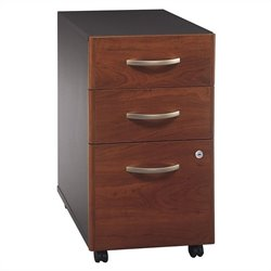 Bush Business Furniture Series C 3Dwr Mobile Pedestal in Hansen Cherry
