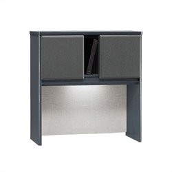 Bush Business Furniture Series A 36W Hutch in Slate