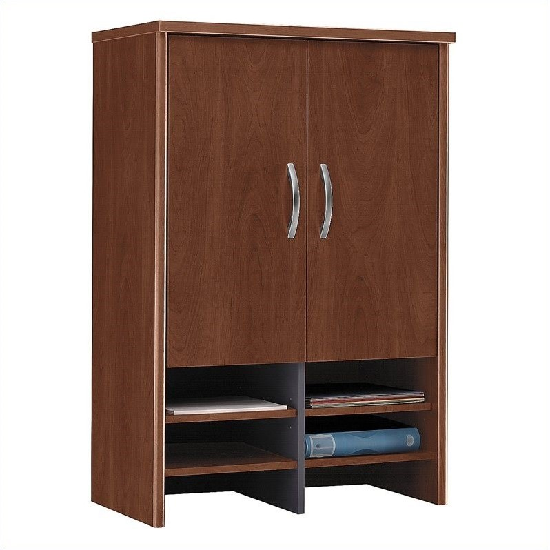 Bush Business Furniture Series C 30W Hutch in Hansen Cherry