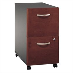 Bush Business Furniture Series C 2Dwr Mobile Pedestal in Hansen Cherry
