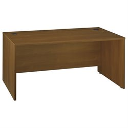 Bush Business Furniture Series C 66W Desk Shell in Warm Oak