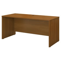 Bush Business Furniture Series C 60W Credenza Shell in Warm Oak