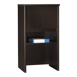 Bush Business Furniture Series C 24W Hutch in Mocha Cherry
