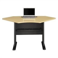 Bush BBF Series A 42W Corner Desk in Beech