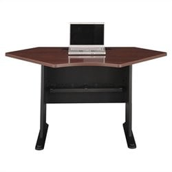 Bush BBF Series A 42W Corner Desk in Hansen Cherry