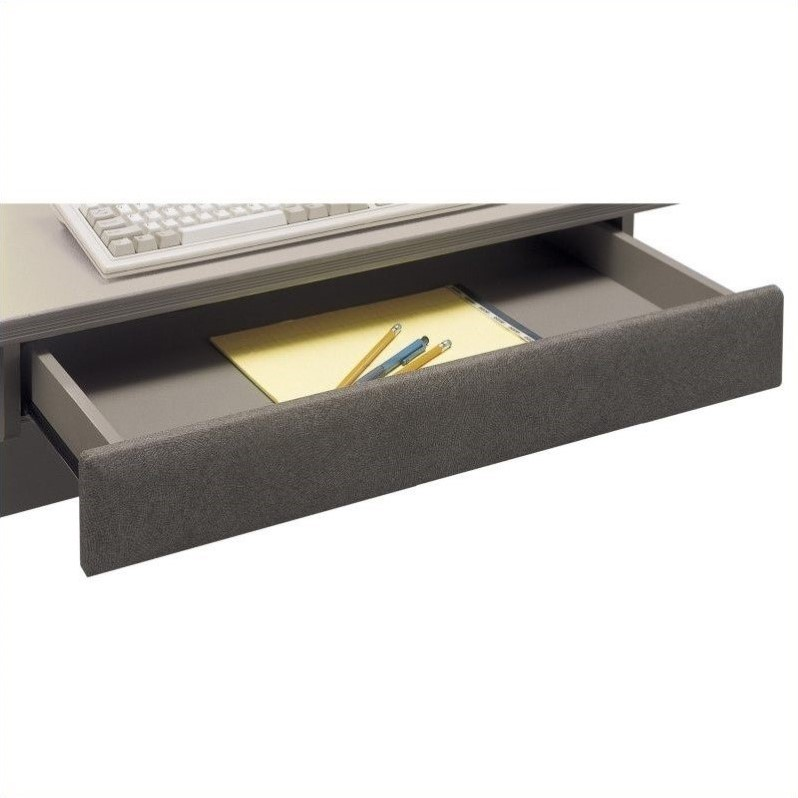 Bush BBF Series A Pencil Drawer in Pewter