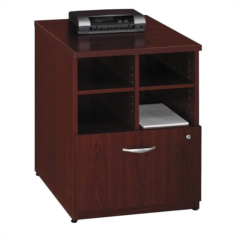 Bush Business Furniture Series C 24W Piler-Filer in Mahogany