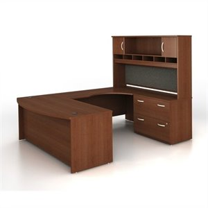 Bush Business Series C 4-Piece U-Shape Right-Hand Computer Desk