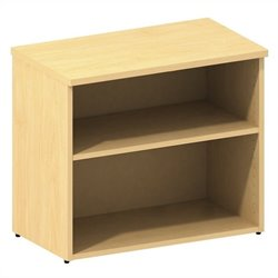 Bush BBF 300 Series Lower Bookcase Cabinet in Natural Maple