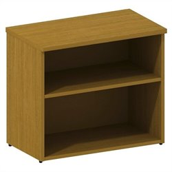 Bush BBF 300 Series Lower Bookcase Cabinet in Modern Cherry