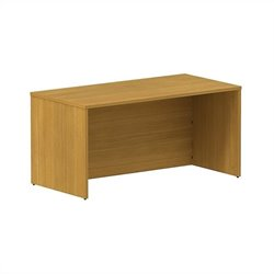 Bush BBF 300 Series 60W x 30D Shell Desk Kit in Modern Cherry