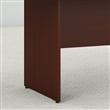 Bush Business 72W x 36D Boat Shaped Conference Table in Harvest Cherry
