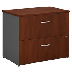 Bush BBF Series C 36W 2Dwr Lateral File (Assembled) in Hansen Cherry