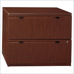 Bush BBF Series A 36W 2Dwr Lateral File (pro) Assembled in Hansen Cherry