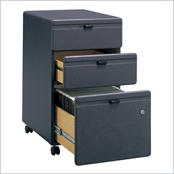 Bush BBF Series A 3Dwr Mobile Pedestal (Assembled) in Slate