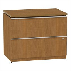 Bush BBF Milano2 36W 2Dwr Lateral File in Golden Anigre